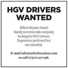 Ark Relocation - HGV drivers wanted
