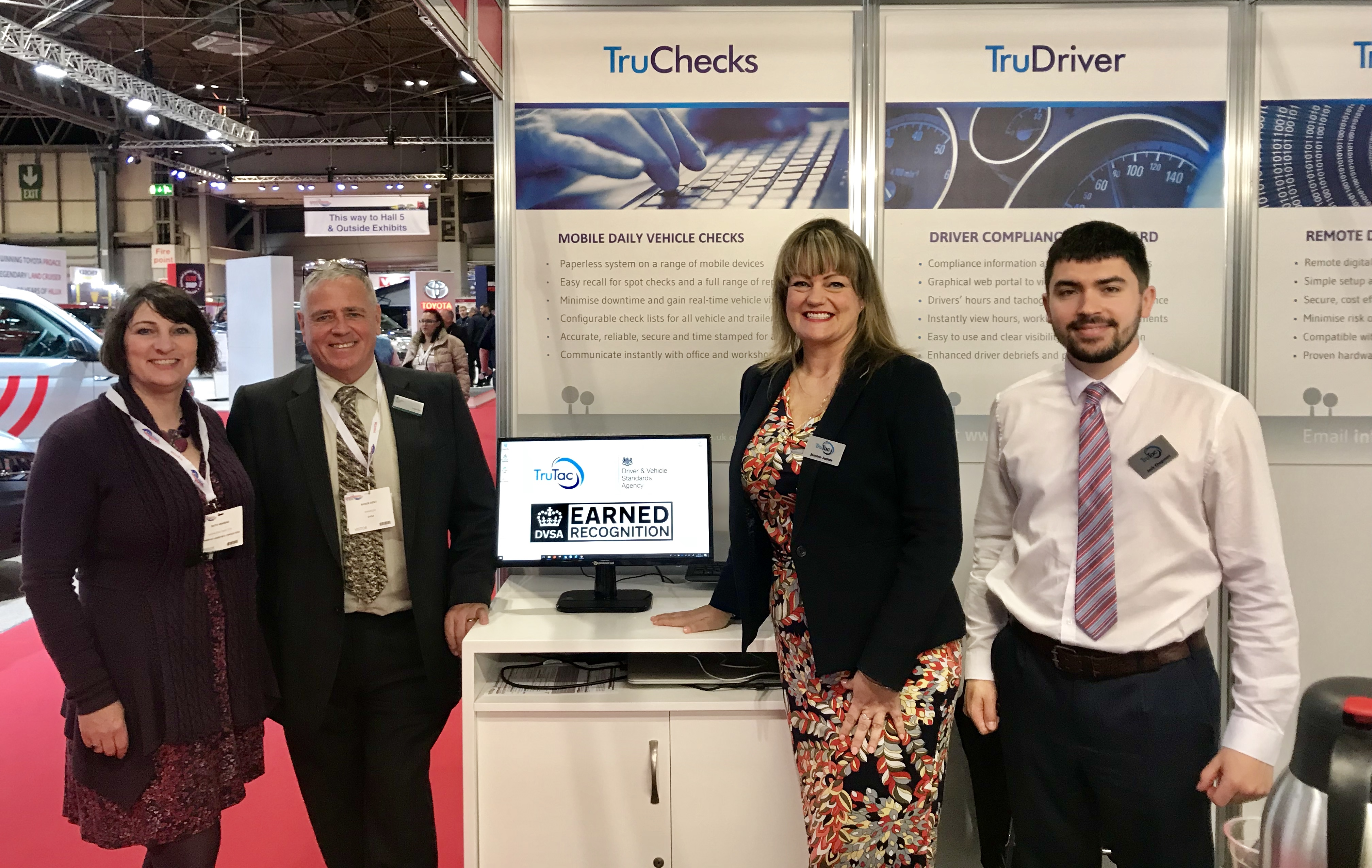 The TruTac team at the CV Show