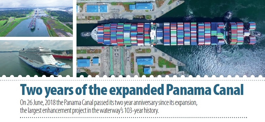 Two years of the expanded Panama Canal