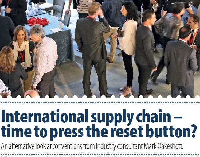 International supply chain - time to press the reset button?