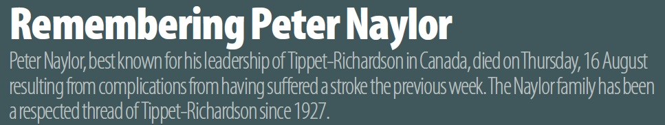 Remembering Peter Naylor