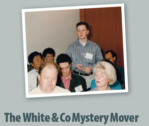White and Co Mystery Mover