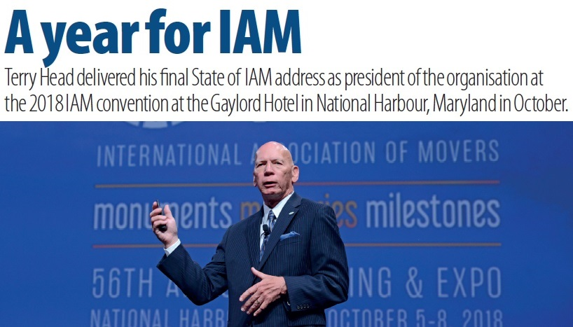 Terry Head delivered his final State of IAM address as president of the Association