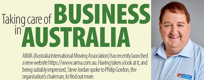 Taking care of business in Australia: Australia International Moving Association