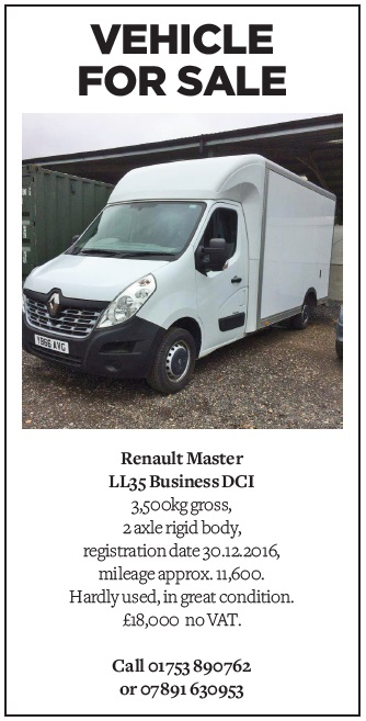 Vehicle for sale - Renault Master LL35 Business DCI