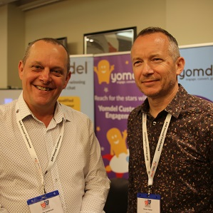 Andy Soloman and Simon Taylor from Yomdel