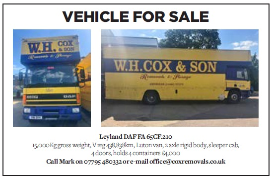 Vehicle for sale - Leyland DAF FA 65CF.210