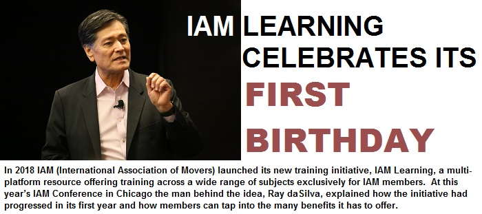 IAM Learning celebrates its first birthday