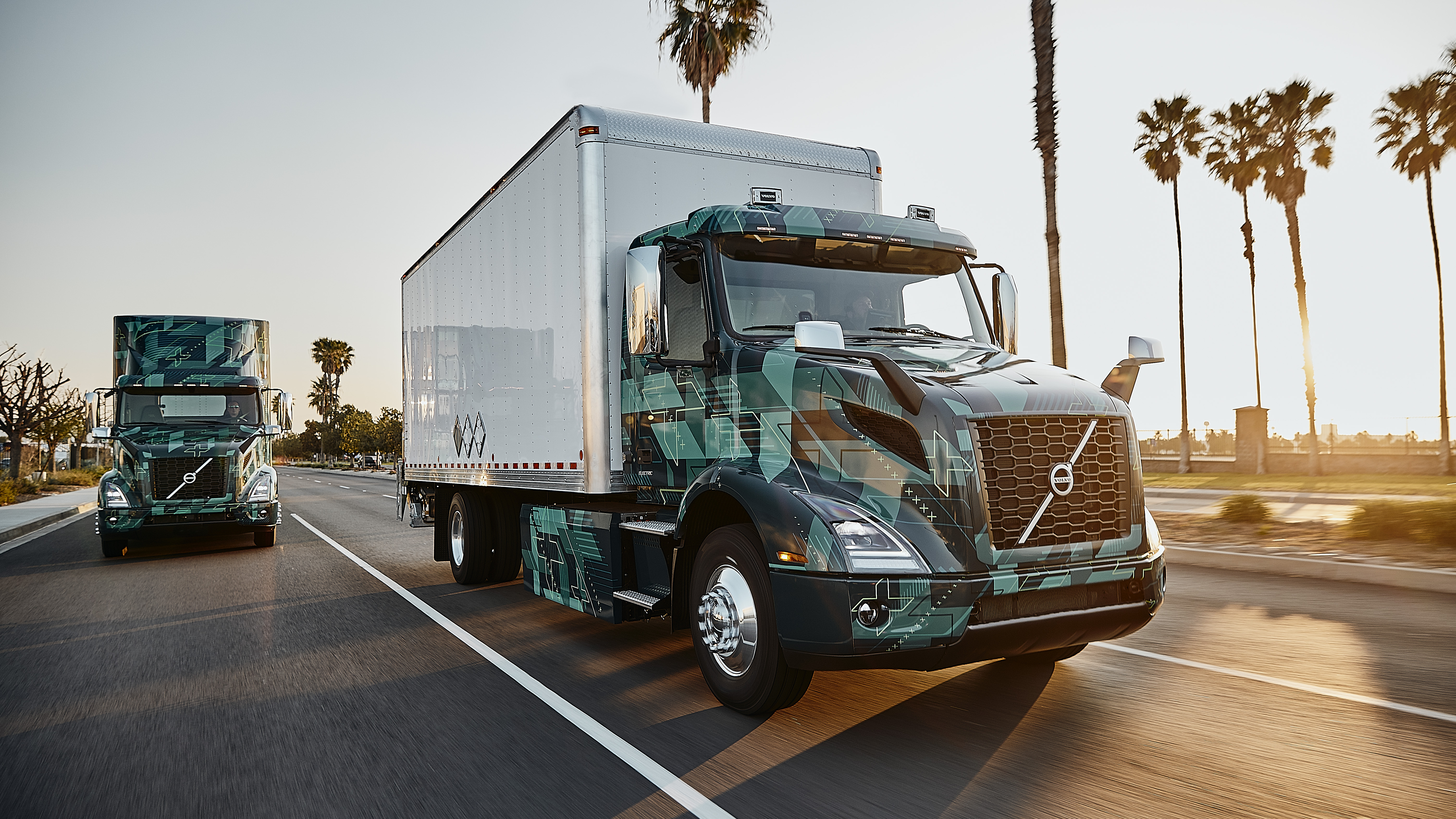 Volvo VNR Electric truck