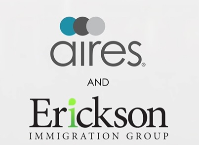 Aires and Erickson Immigration Group announce formal partnership