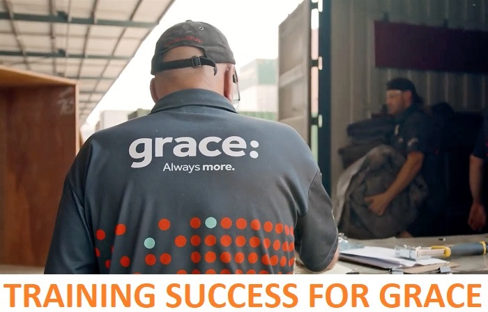 Grace recently commissioned a new business training system, SAP Litmos