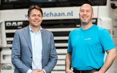 Managing Director Wouter Hijzen with staff member Patrick Brand