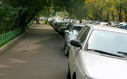 UK government has launched a consultation about vehicles obstructing footpaths