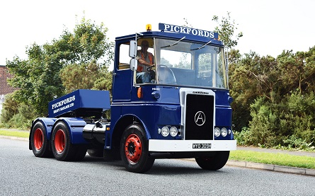 The restored Atkinson View Line lorry - 445x277