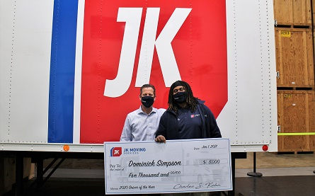 J K Moving driver of the year award -445x277