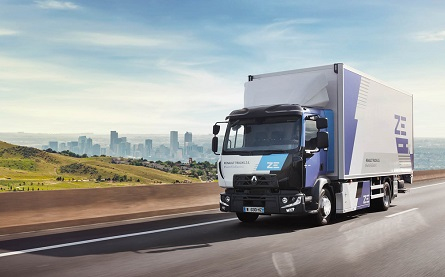 Renault Trucks to offer an electric range for each market segment from 2023 - 445x277